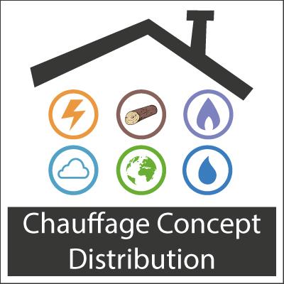 Logo Chauffage Concept Distribution