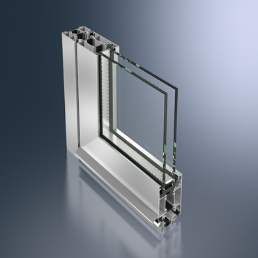 Porte en aluminium ADS 60 CH
