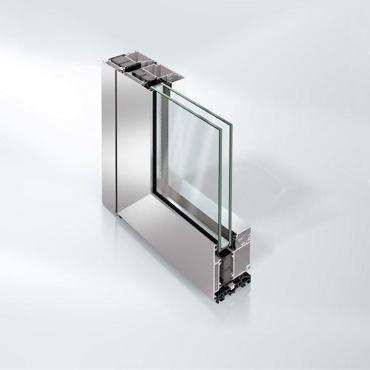 Porte en aluminium ADS 75 HD.HI