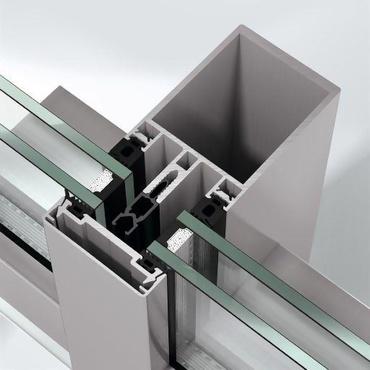 Façade en aluminium FW 60+ Schüco