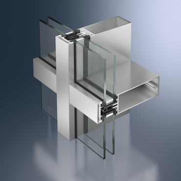 Façade en aluminium FW 50+ Schüco