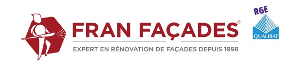 Logo FranFacades Rénovation plus logo QUALIBAT