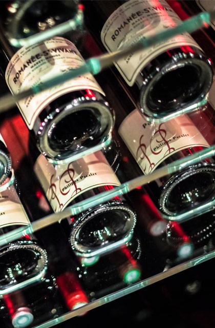 Verre cave - cave à vins sur-mesure