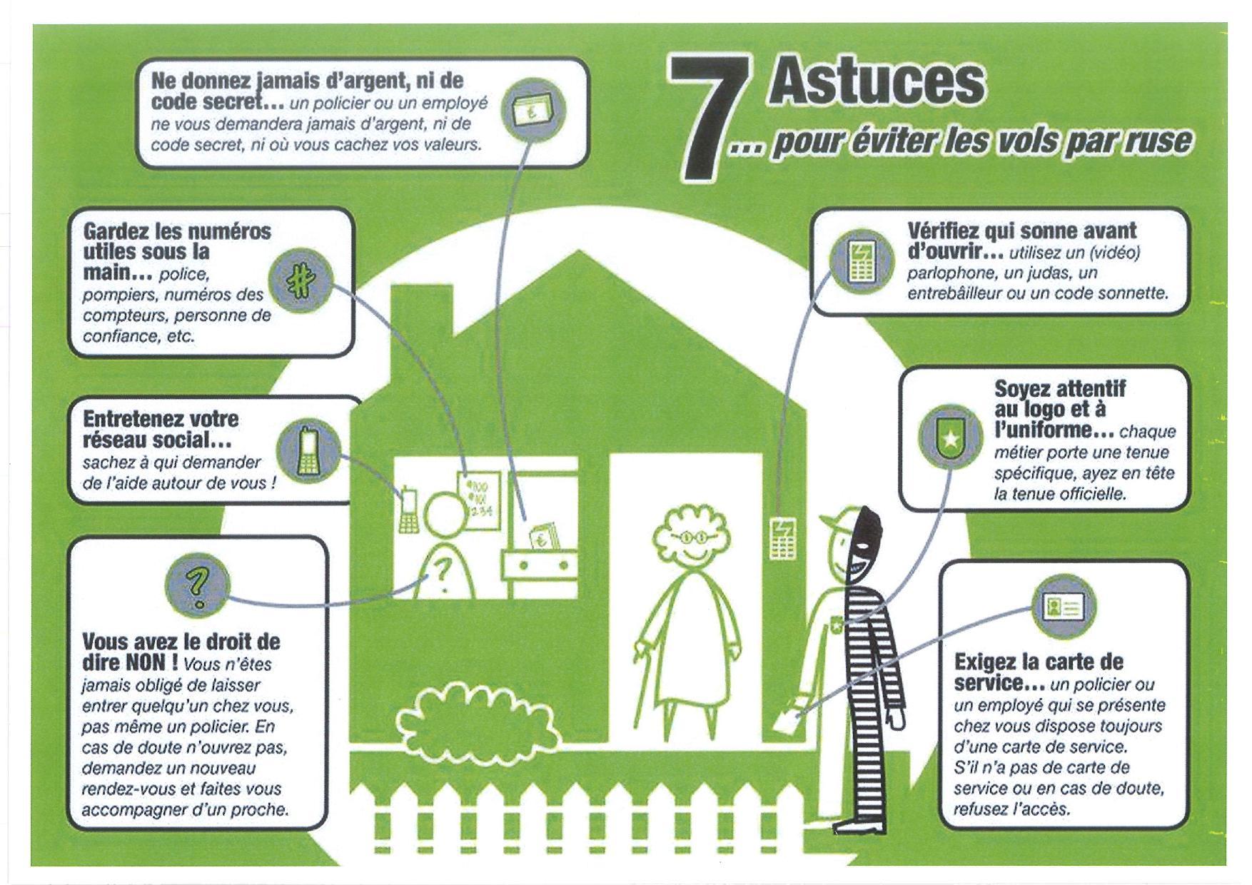 Démarchage à domicile : Mairie de St Etienne Du Bois