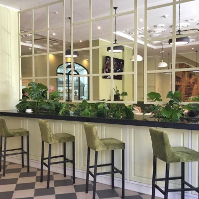 5 Фото интерьера Cafe de Paris