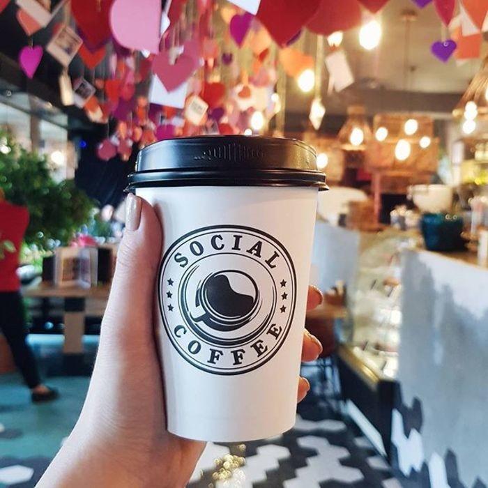 3 Фото интерьера Social Coffee