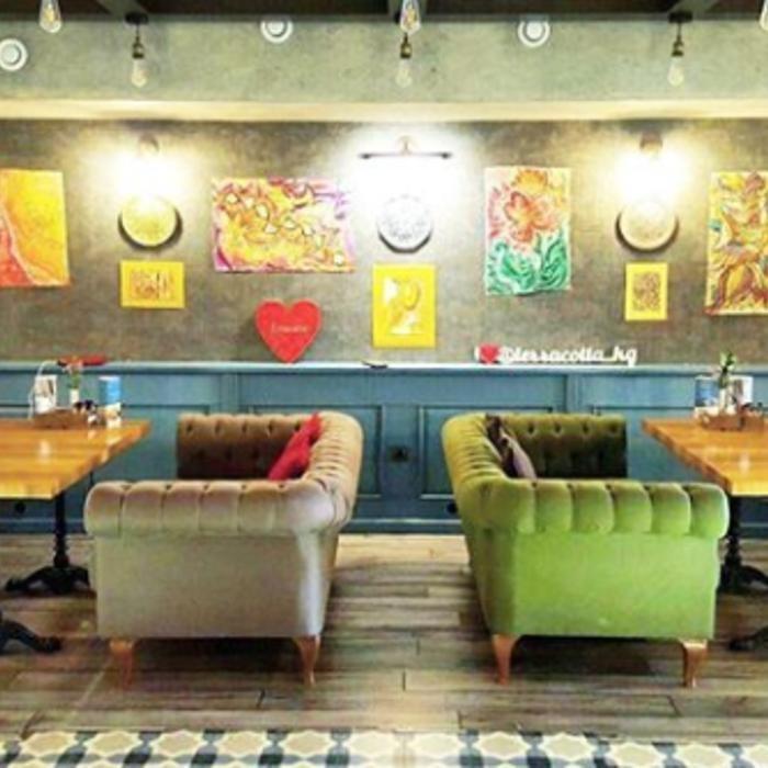 3 Фото интерьера Terracotta coffee
