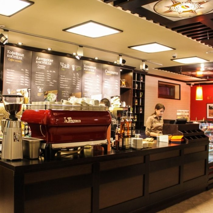 1 Фото интерьера Traveler`s coffee