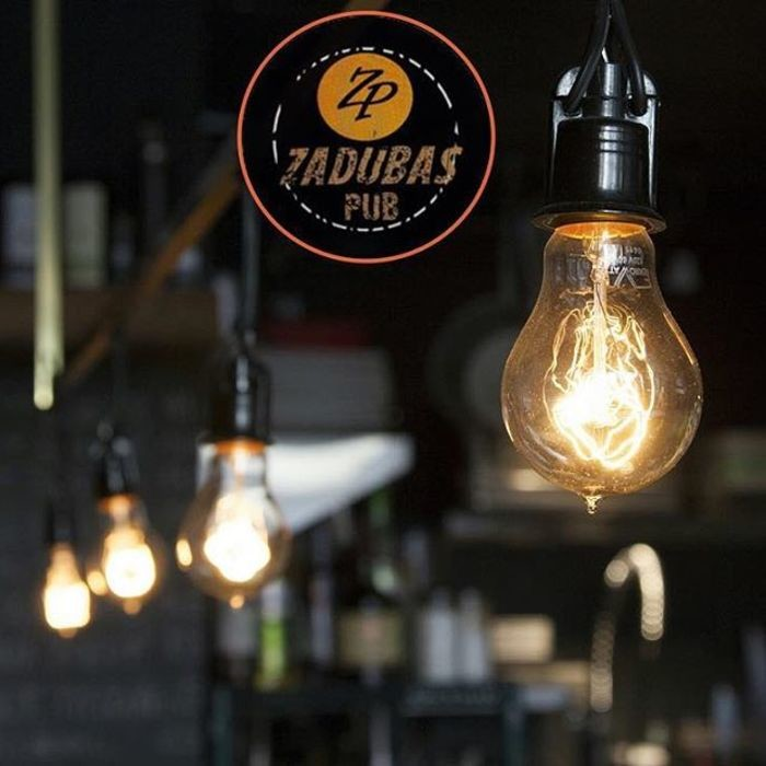 1 Фото интерьера Zadubas Pub