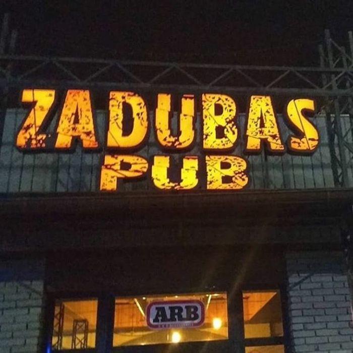 7 Фото интерьера Zadubas Pub