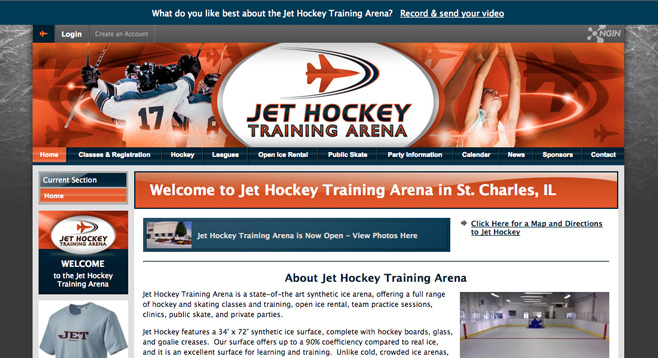 Jet Hockey Arena