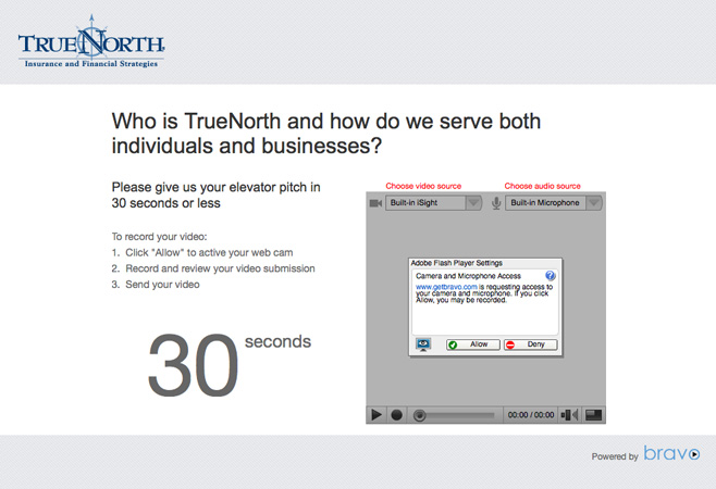 TrueNorth's Bravo Video Portal