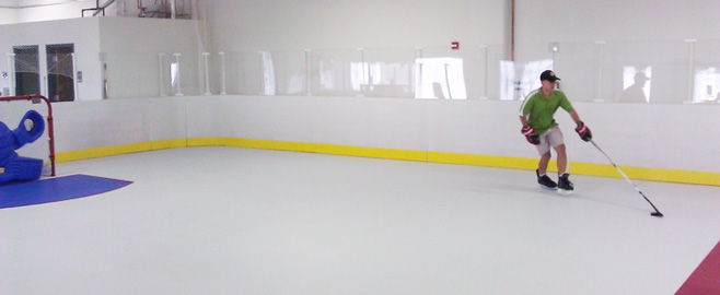 Jet Hockey Training Arena in St. Charles, IL