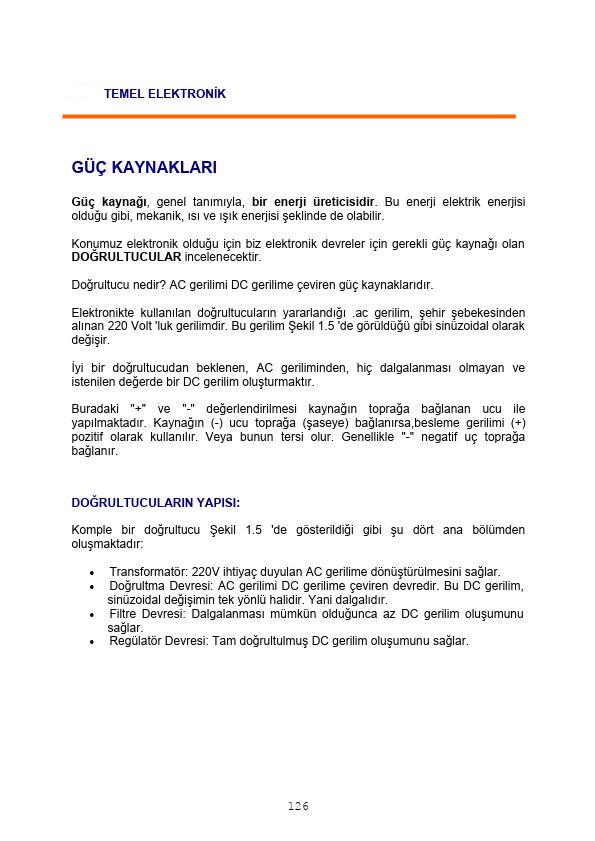 Temel Elektronik - 8 Mersin Üniversitesi 9 Sayfa