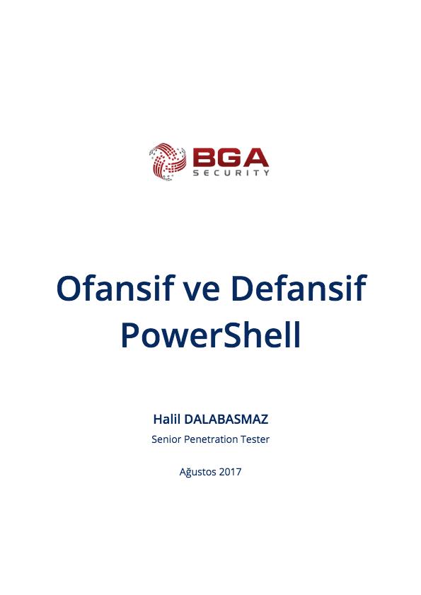 Ofansif ve Defansif PowerShell