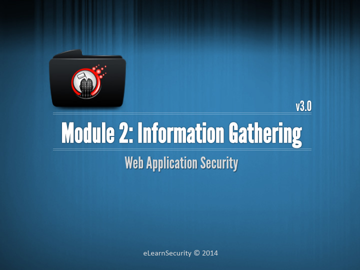Web Uygulama Güvenliği Eğitim Notları - Bilgi Toplama Dökümanı