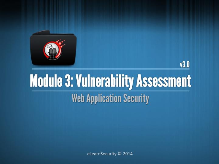 Web Uygulama Güvenliği Eğitim Notları - Güvenlik Açığı Değerlendirilmesi Dökümanı