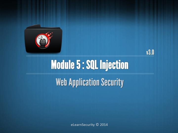 Web Uygulama Güvenliği Eğitim Notları - SQL Injection Dökümanı