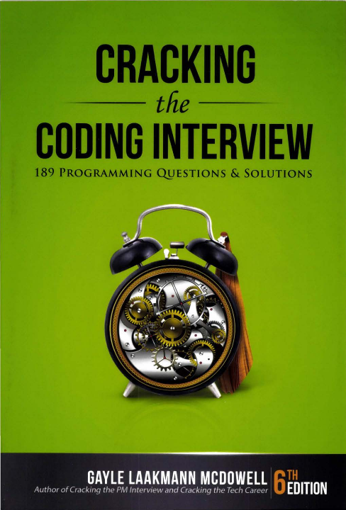 Cracking the Coding Interview, 6th Edition - Kodlama mülakatını cracklemek