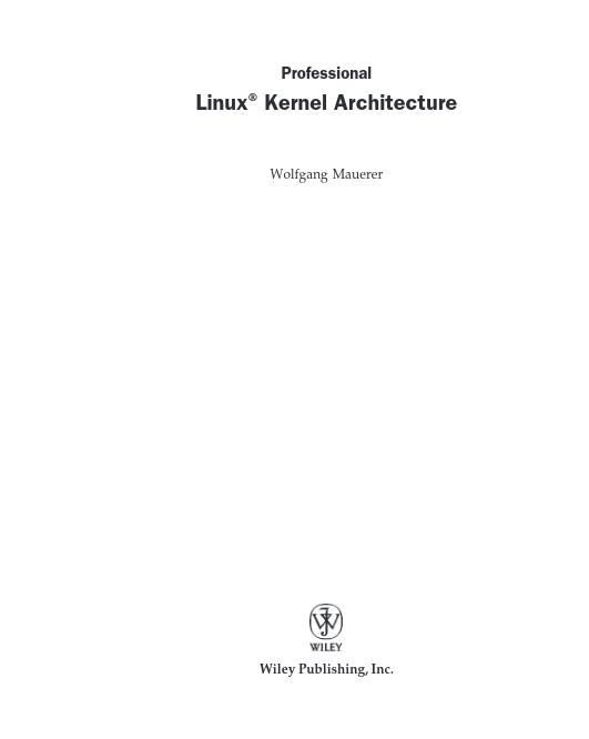 Linux Çekirdek Mimarisi
