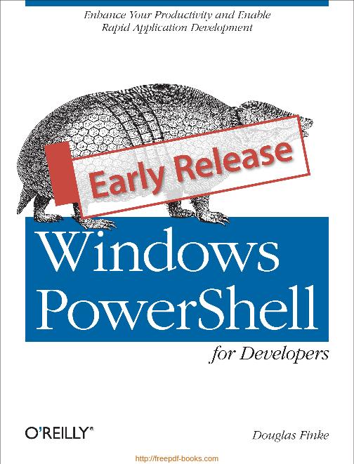 Geliştiriciler İçin Windows PowerShell Kullanımı