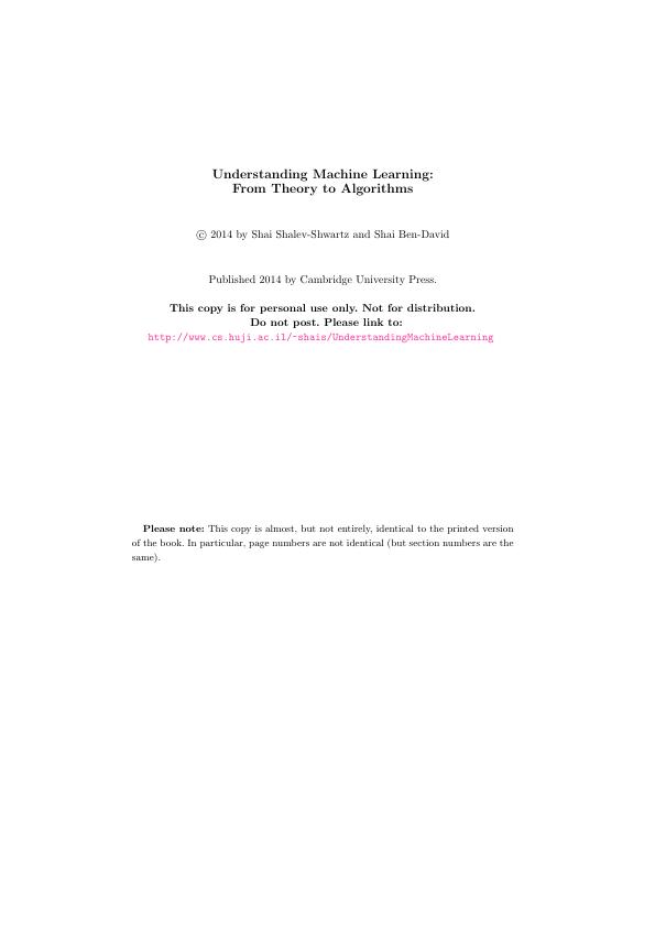 Makine Öğrenimini Anlamak: Teoriden Algoritmalara