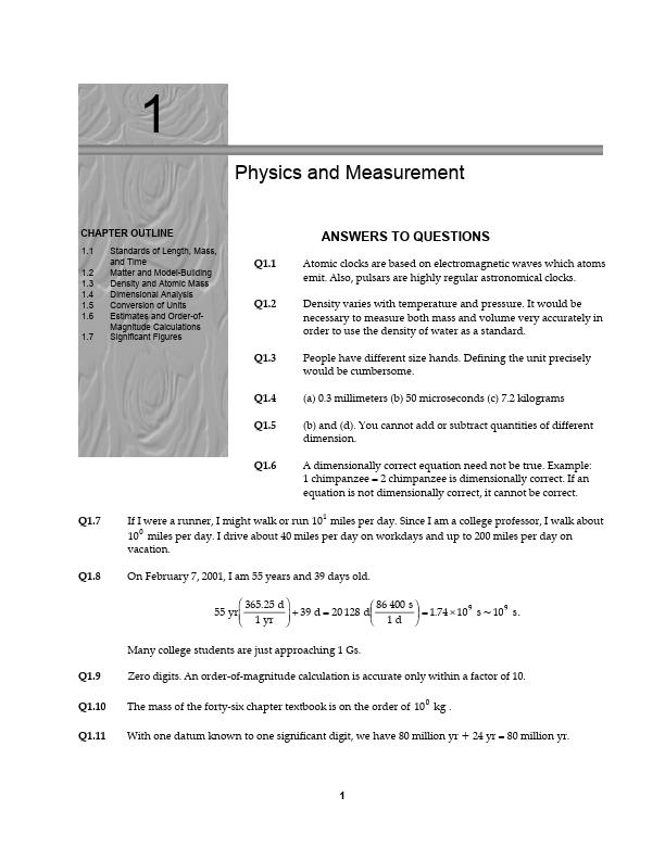 Mühendislik için FİZİK 1 - FİZİK 2 Kitabı Çözümleri - İngilizcedir