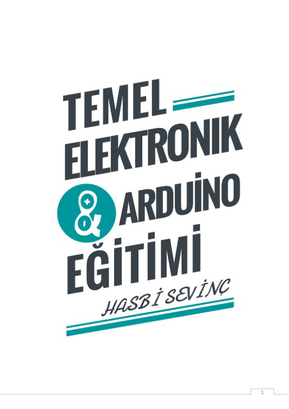 Temel Elektronik Arduino Eğitimi PDF