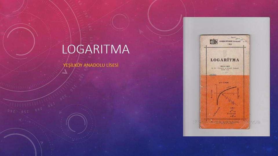 Logaritma Konu Anlatımı PDF