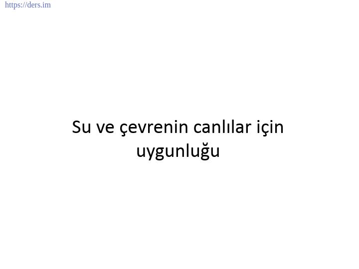 GENEL BİYOLOJİ DERS NOTLARI  -  3