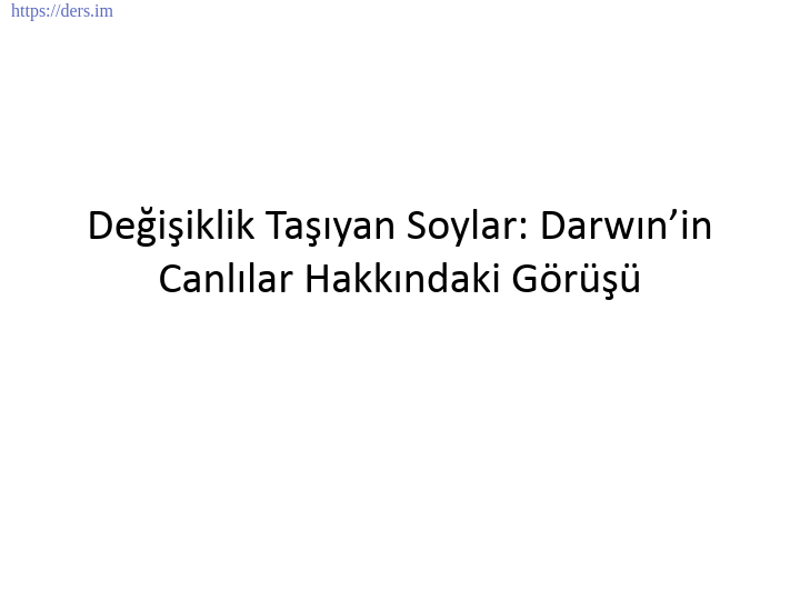 GENEL BİYOLOJİ DERS NOTLARI  -  12