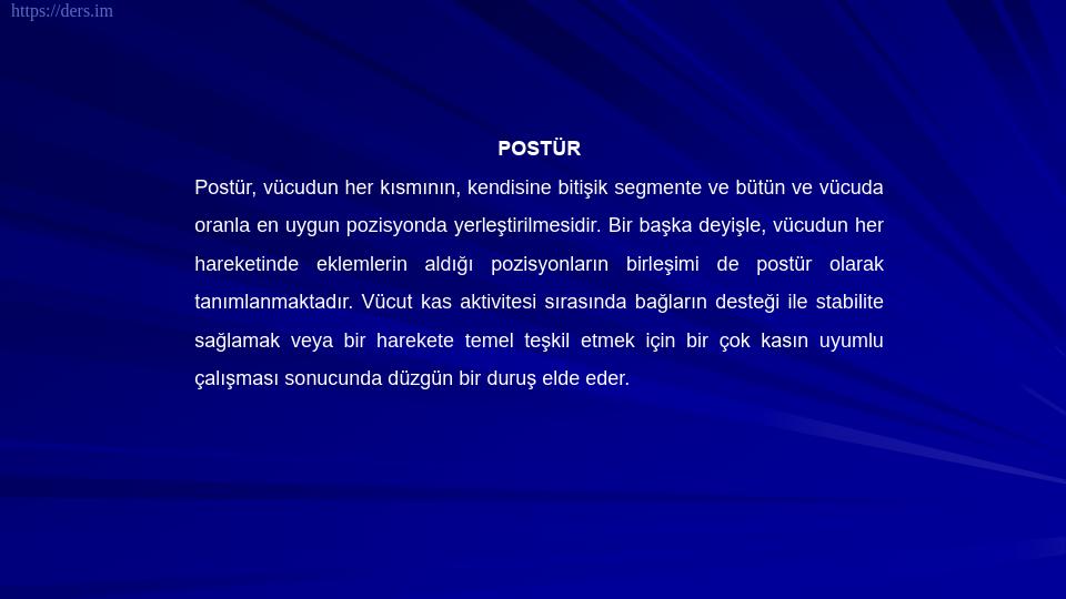 SOMATOLOJİ DERS NOTLARI - 12