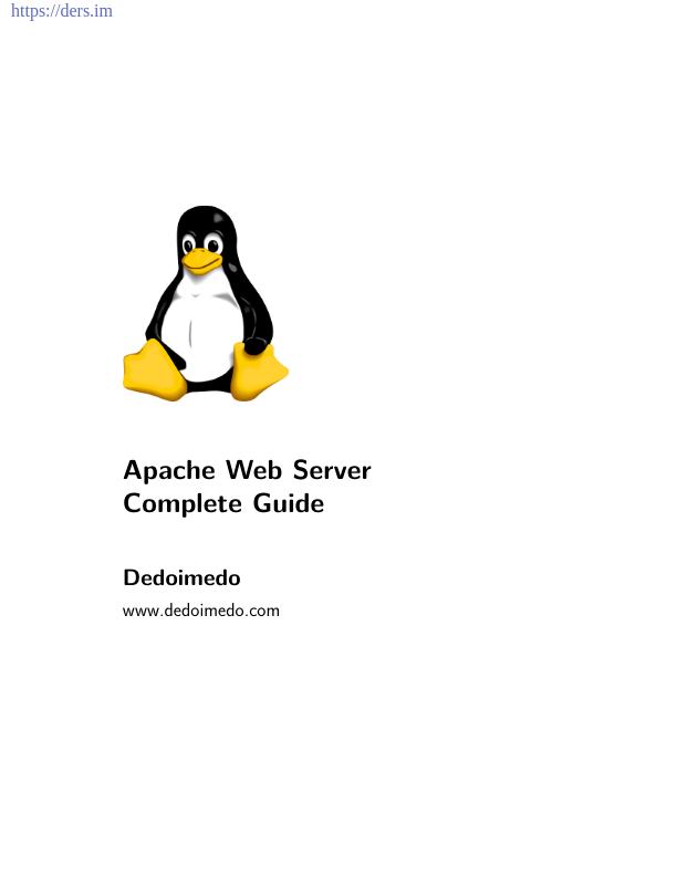 Apache Web Sunucusu Komple Kılavuz