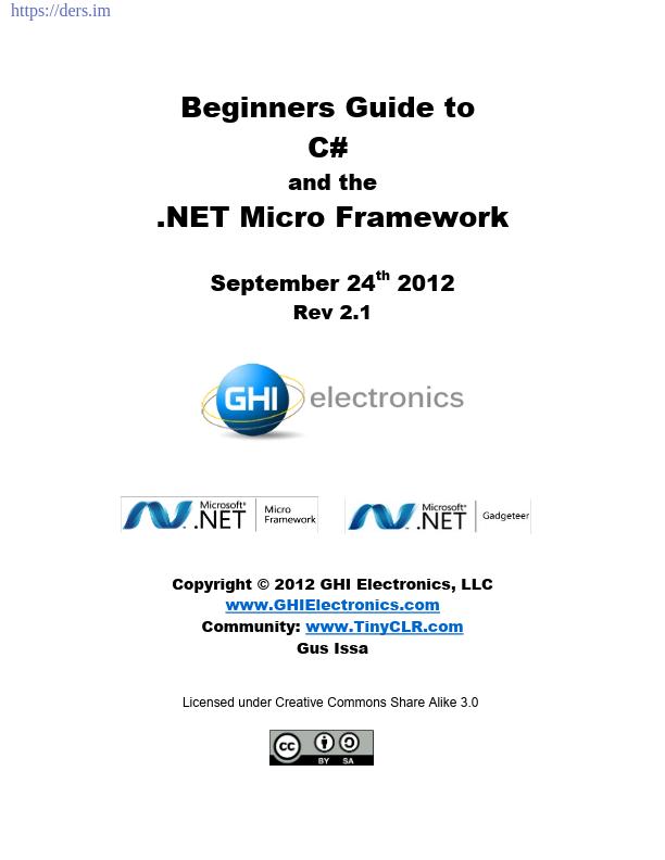 .NET ile Programlamaya Giriş