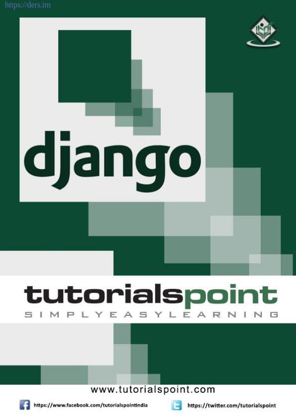 Django Programlama Adım Adım Öğrenme