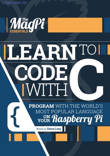 C Programlama Dili İle Programlamaya Giriş
