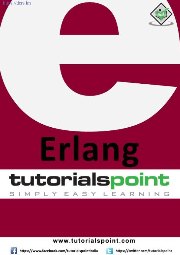 Erlang Programlama Dili Öğren