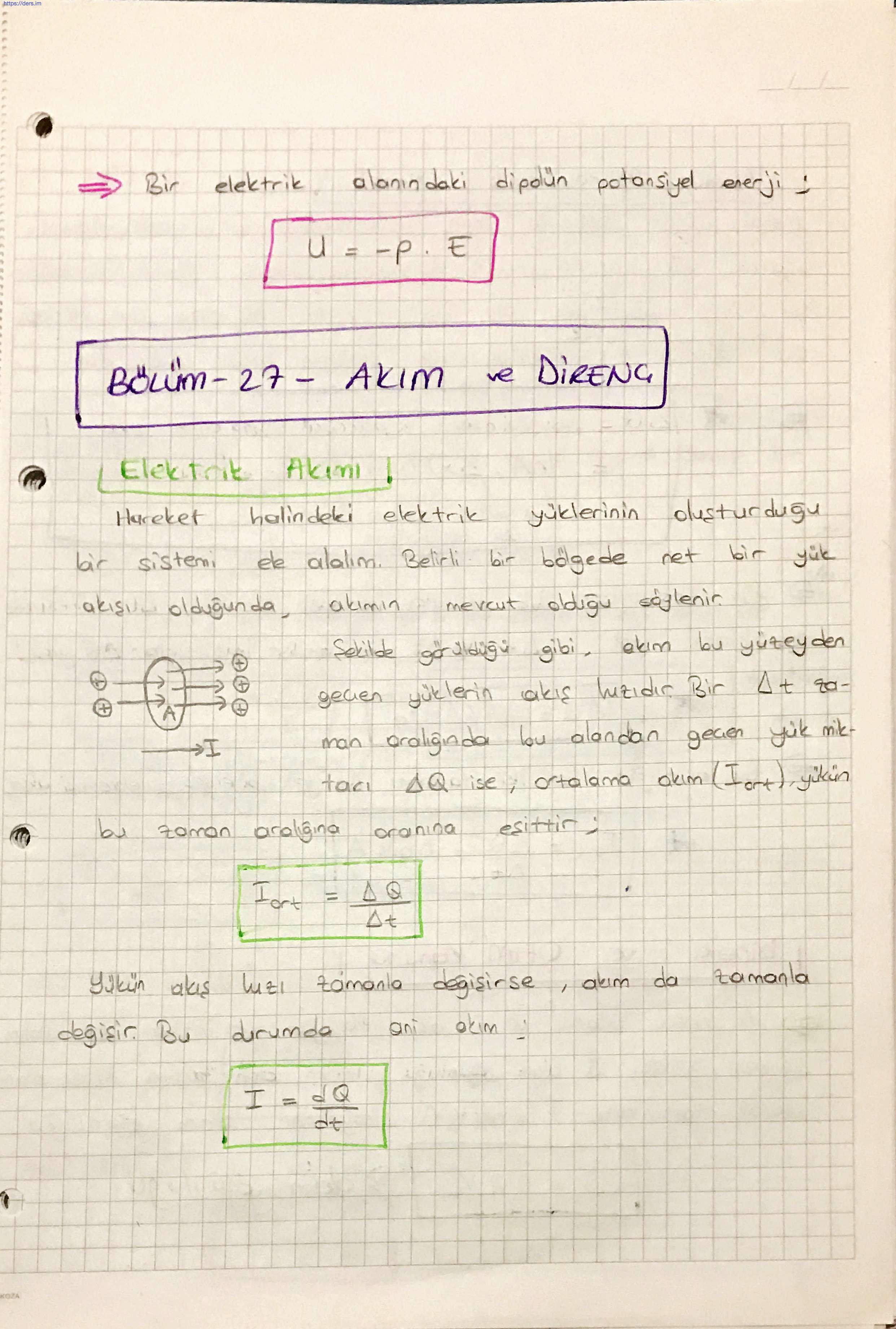 Serway Fizik 2 Vize Konuları Konu Anlatımı PDF 3