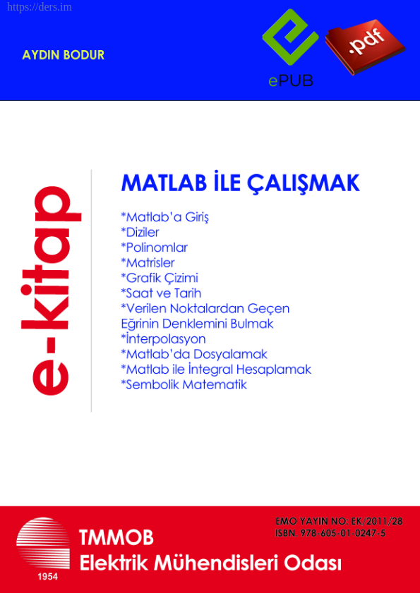 MATLAB E BOOK
