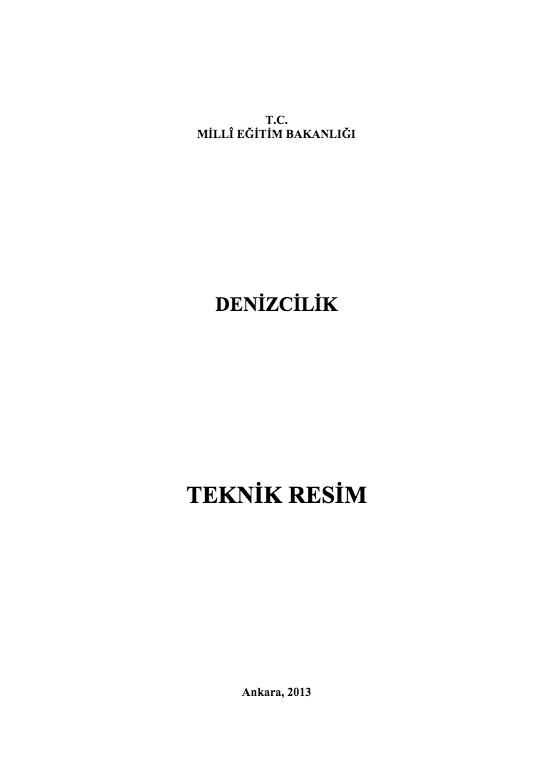 TEKNIK RESIM - MEGEP