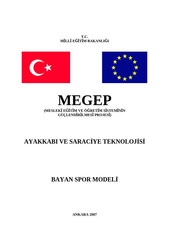 Bayan Spor Modeli ders notu pdf