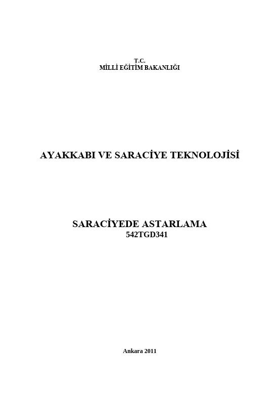 Saraciye Astarlama