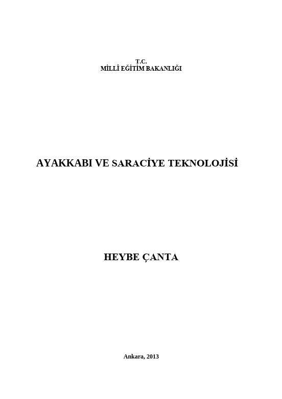 Heybe Çanta