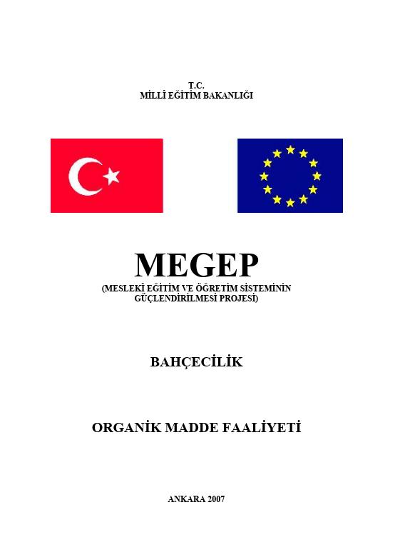 Organik Madde Faaliyeti ders notu pdf