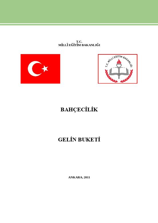 Gelin Buketi ders notu pdf