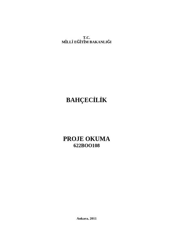 Proje Okuma