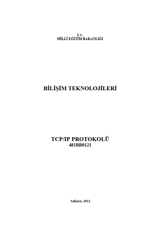 Tcp-ip Protokolü