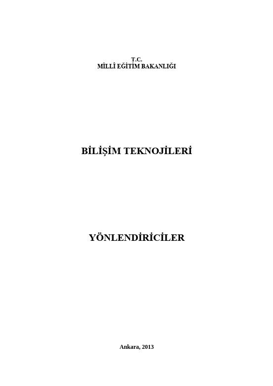 Yönlendiriciler ders notu pdf