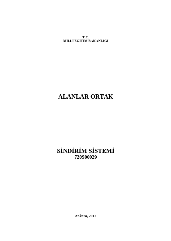 Sindirim Sistemi ders notu pdf