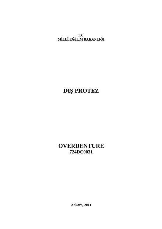 Overdenture ders notu pdf